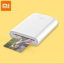 Xiaomi Mijia – Mini imprimante de poche AR, Portable, voyage, Photo de fête, appareil Photo, bricolage, partage, impression sans encre