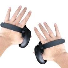 أحدث قبضة لجهاز التحكم باللمس لعام 2020 لحامل التحكم في اللمس من كوة كويست/Rift S قبضة قابلة للضبط ملحقات أشرطة لمفصل الإصبع