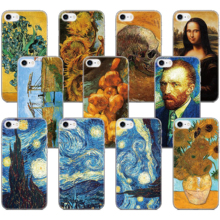 DIY Custom Photo Silicone Cover Vincent Van Gogh Cases For Vodafone Smart N10 V10 X9 E9 C9 N9 Lite V8 N8 E8 Prime 6 7 Phone Case vincent van gogh postkartenbuch