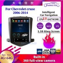 64GB voiture Android lecteur multimédia radio pour Chevrolet Cruze 2006 2014 GPS Navigation écran Vertical 2