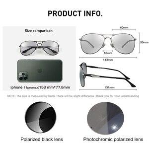 Image 5 - CAPONI Driving Photochromic High Quality Sunglasses Polarized Classic Brand Sun Glasses for Men oculos de sol masculino CP8722