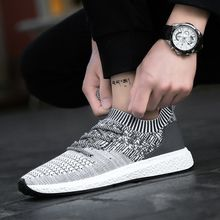Lagre size 39-46 air mesh breathable sneakers boys sport shoes men summer 2020 fashion man wedges