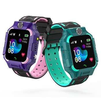 S19 Waterproof Smart Watch for Kids LBS Tracker SmartWatch SOS Call for Children Anti Lost Monitor Baby Wristwatch for Boy girls