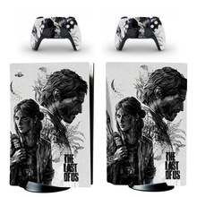 The Last of Us PS5 Standard Disc Edition Skin Sticker Decal Cover for PlayStation 5 Console & Controller PS5 Skin Sticker Vinyl
