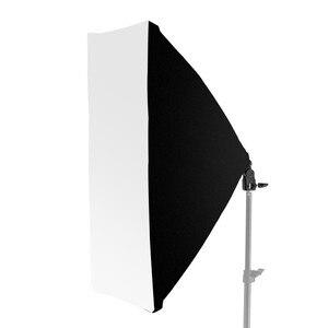 Image 1 - 50*70 سنتيمتر التصوير استوديو السلكية سوفتبوكس مصباح حامل مع E27 المقبس ل استوديو الإضاءة المستمرة Fotografie اكسسوارات