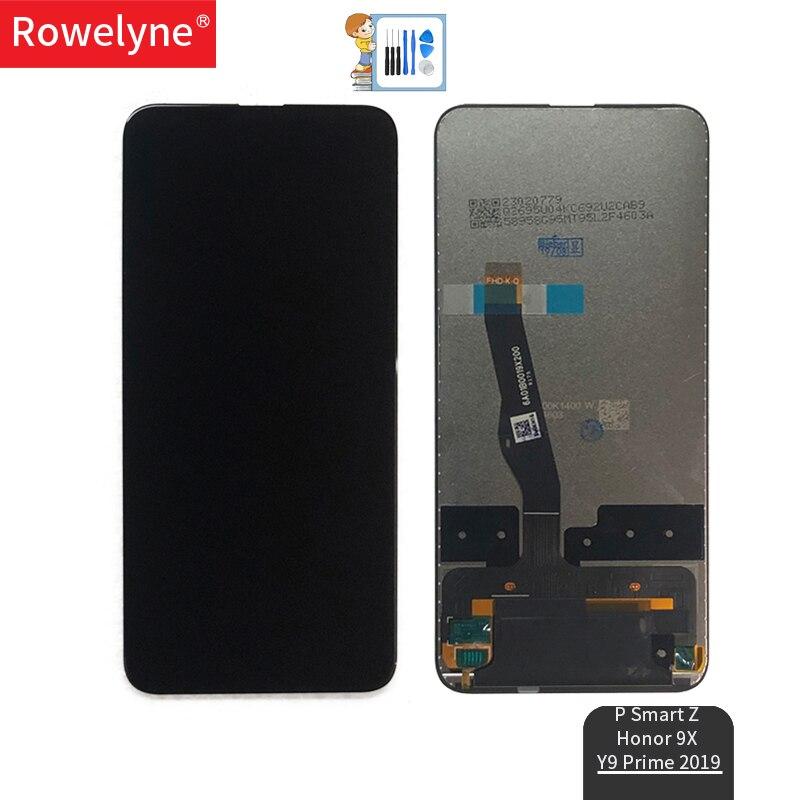 Pour L'honneur 9X D'affichage À CRISTAUX LIQUIDES pour HUAWEI P Smart Z/Y9 Premier 2019 Écran LCD avec Numériseur Tactile STK-LX1 STK-L22 STK-LX3 L'assemblée