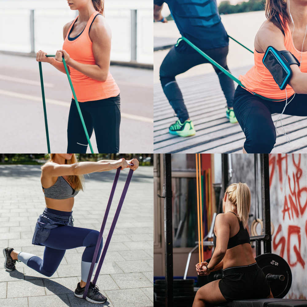 Sport Fitness taśma do ćwiczeń Pull Up pomocy opaski pętle do ćwiczeń oporowych dla jogi dom siłownia szkolenia
