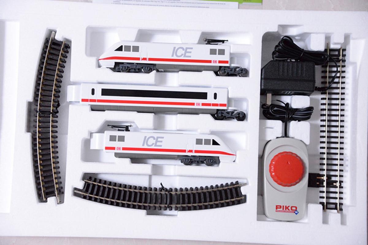 PIK0 Train Model Set My Train ICE3 Primary Set = Car+track+controller HO Ratio