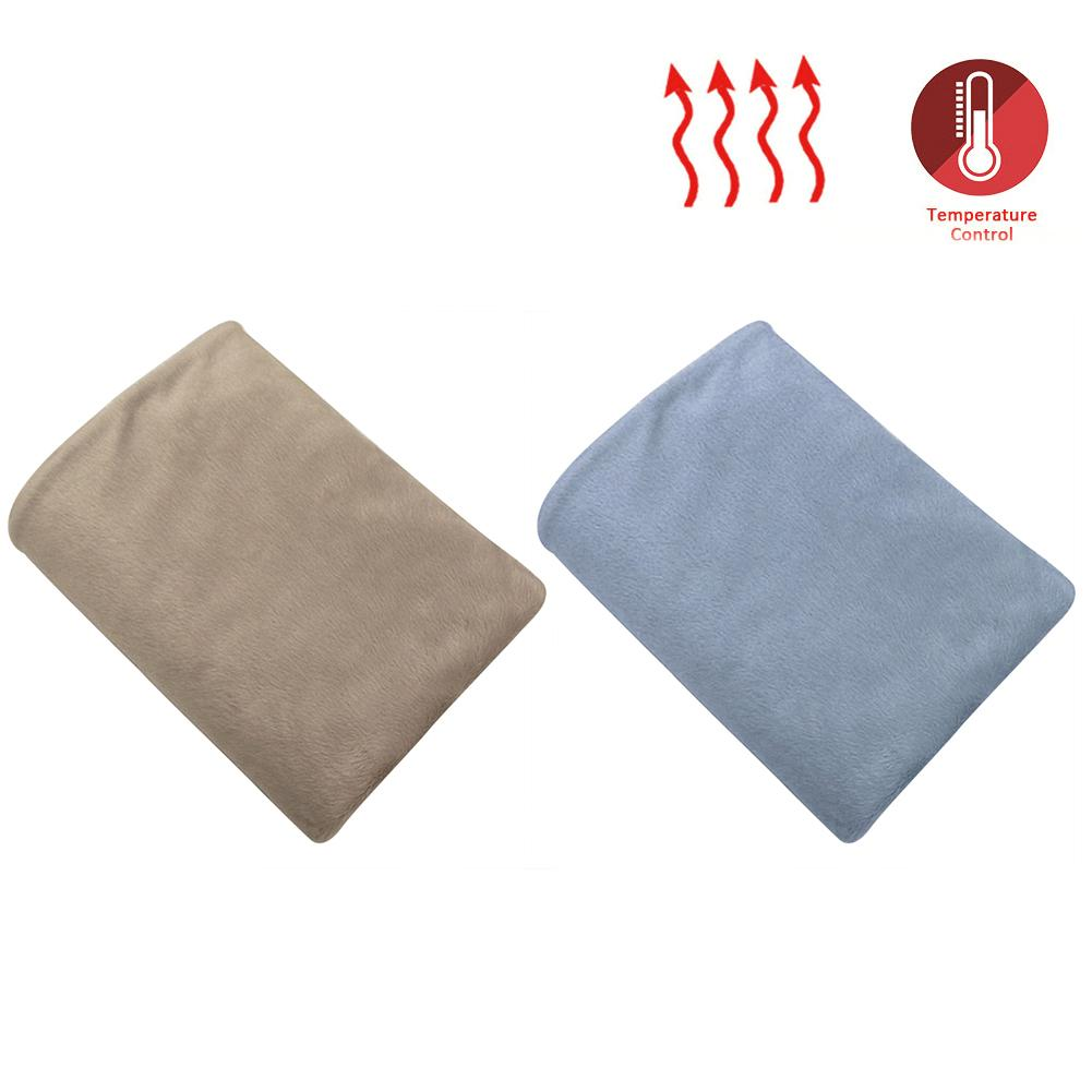 100*60cm 12V Car Heating Blanket Comfortable Electric Warm Blanket For Home Cars RVs Cold Weather Traveling Dropship