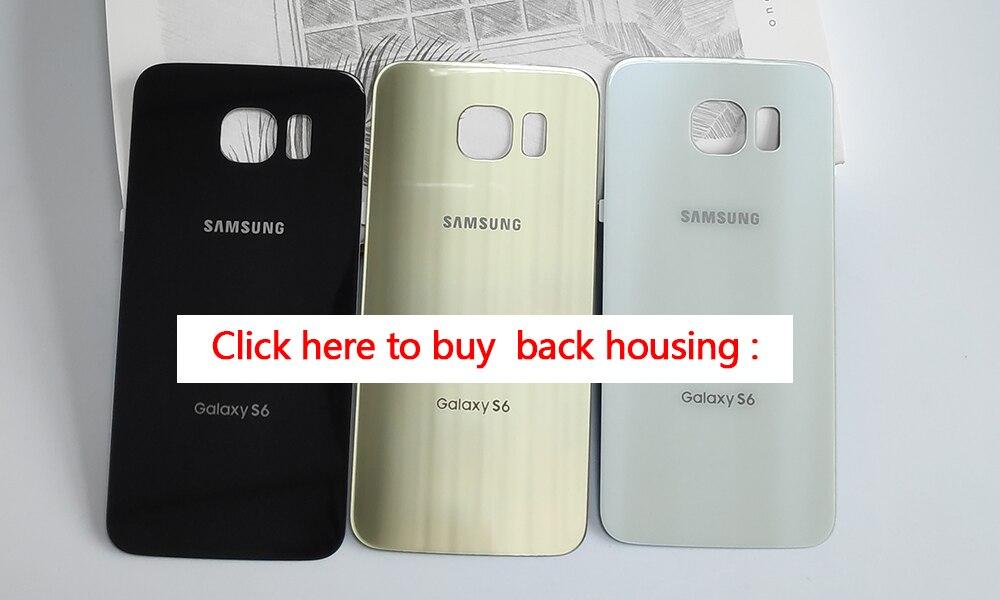 Pantalla Super Amoled 100 Probada Para Samsung Galaxy S6 G920g Pantalla Lcd Quemada Montaje De Digitalizador De Pantalla Táctil Marco Frontal Pantallas Lcd Para Teléfonos Móviles Aliexpress