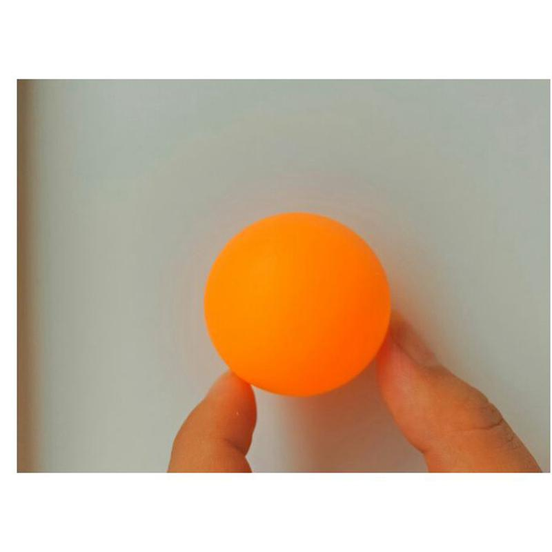 Один комплект/144 шт. без слово 38 мм мячи для настольного тенниса повышения квалификации шарики для пинг-понга Оранжевый Пинг Понг спортивные аксессуары