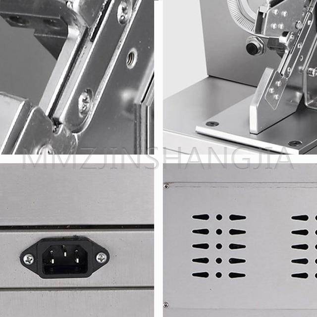 автоматическая электрическая ветчина машина для связывания колбасных фотография