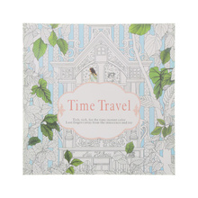 1 Pcs 24 Pages Time Travel Coloring Book For Children Adult Relieve Stress Kill Graffiti Painting Drawing Art