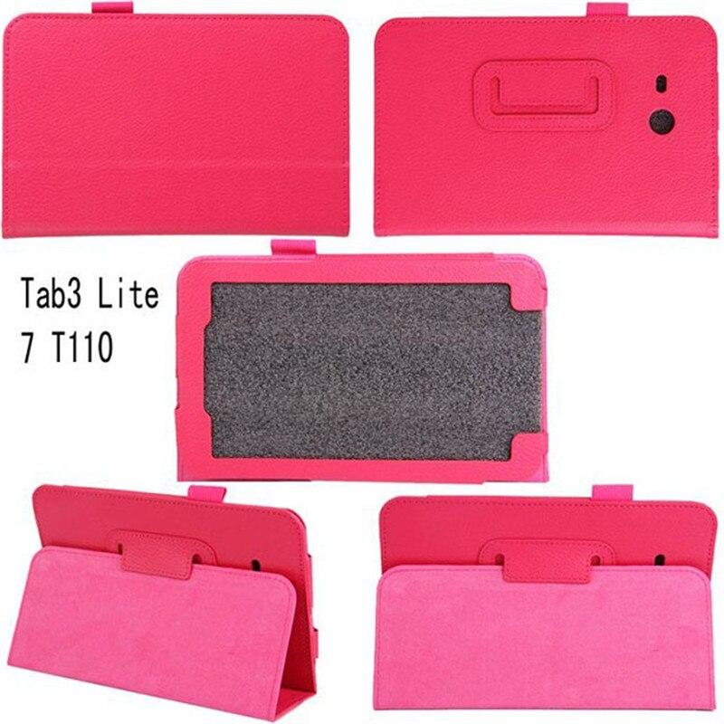 Чехол из искусственной кожи для Samsung Tab 3 lite 7,0 чехол для планшета для Samsung Galaxy Tab3 T110 T111 T113 T116 Fundas Case