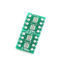 20pcs SOP8 TSSOP8 SSOP8 to DIP8 Transfer Board DIP Pin Board Pitch Adapter
