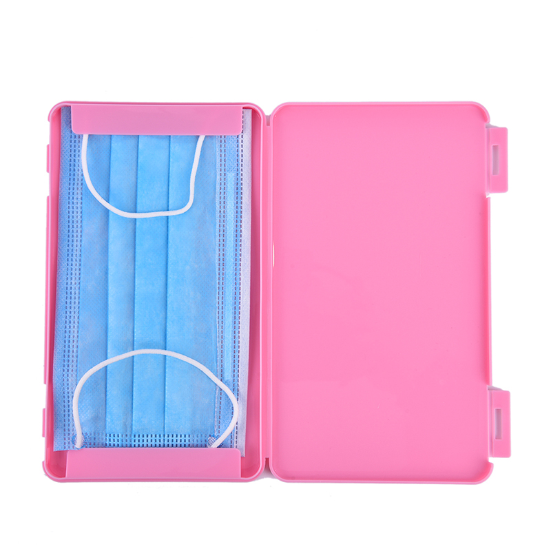 Portable Face Masks Container Dustproof Disposable Mask Case Mask Storage Box Travel Household Tool