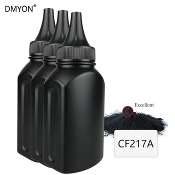 DMYON CF217A 217A/a 17a Toner Powder Compatible for HP LaserJet Pro M102a M102w MFP M130a M130fn M130nw Printer 2pcs cf217a compatible toner cartridge for hp laserjet pro m102a m102w mfp m130a m130fn m130fw cf217a 217a with chip