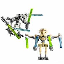 Criador bloco de construção geral grievous com sabres de luz droid figuras tijolos brinquedos construção presente para crianças