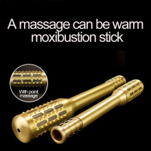 Chinese medicine moxibustion Moxa Stick Heat Conduction Warm Moxibustion Smoked Wormwood Strips + Massage Effect Pure Moxa Stick