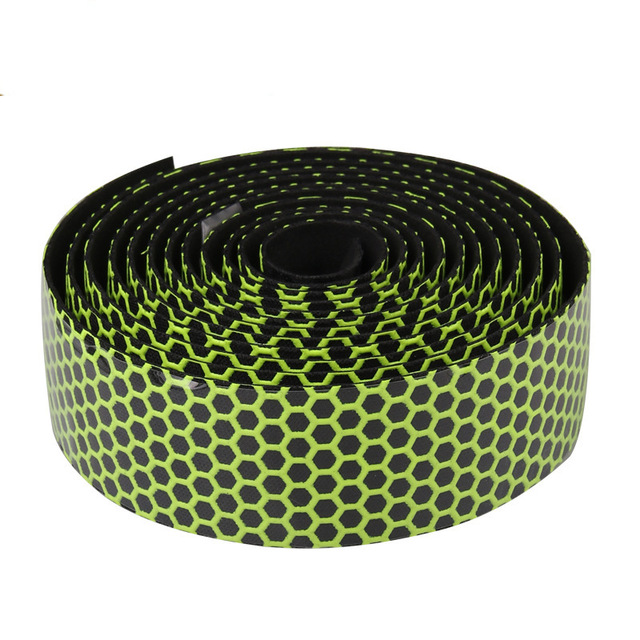 2pcs Sponge Road Bike Bicycle Handlebar Tape Camouflagebelt Cycling Handle Belt Cork Wrap with Bar Plugs non slip absorb sweat 3