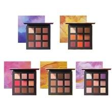Makeup Eyeshadow Pallete Makeup Brushes 9 Color Shimmer Pigmented Eyeshadow Palette Make Up Palette недорого