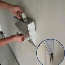 Штукатурка скребок ручной инструмент стены украшения раствор портативный Противоскользящий цемент высокая производительность прочный легкий захват нержавеющая сталь