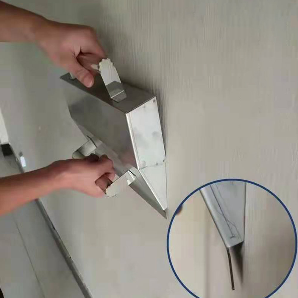 Plaster Scraper Hand Tool Wall Decoration Mortar Portable Anti Slip Cement High Performance Durable Easy Grip Stainless Steel