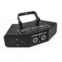 6 soczewki skanowanie światło laserowe DMX RGB pełny kolor światło laserowe strona główna DJ KTV klub nocny projektor świetne efekty oświetlenie sceniczne