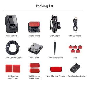 Image 5 - ダッシュカム 4 18k車dvrフロントとリアビューカメラソニーセンサーgps dvrカメラ車のビデオレコーダーダッシュカムプロ自動レコーダー