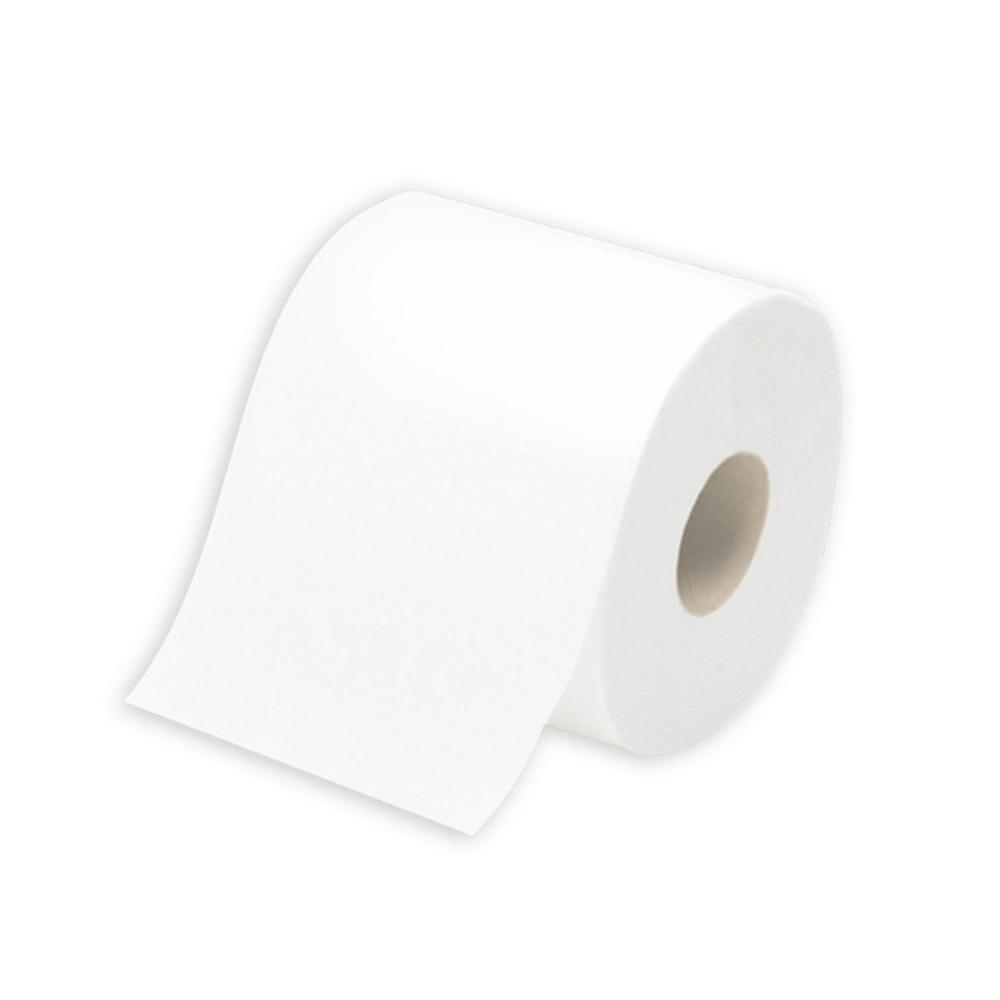1 Roll Standard 3-layer Toilet Paper Bulk Rolls Bath Tissue Household Bathroom Soft Paper Towel For Hotel