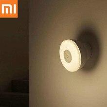 Oryginalny Xiaomi Mijia LED korytarz lampka nocna pilot na podczerwień czujnik ruchu ciała lampa Smar noc w domu