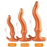 Riesige weiche silikon butt plug anal dildo prostata massager SM homosexuell anal plug erwachsene set spielzeug anal für frauen anus dilatator vagina sex