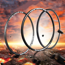 Mountain bike aluminum alloy bicycle rim 26 inch wheel hub front and rear rim 24 28 32 36 hole durable high strength CD50 Q02(China)