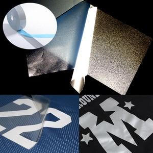 Image 4 - בטיחות רעיוני חום העברה ויניל סרט DIY כסף ברזל על קלטת רעיוני עבור בגדים