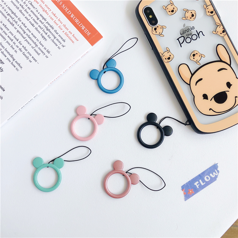 Metal Cute Cartoon Phone Lanyard Mobile Phone Straps Phone Chain Lanyard Short ID Card Key USB Camera MP3 Hanging Badges key in Mobile Phone Straps from Cellphones Telecommunications
