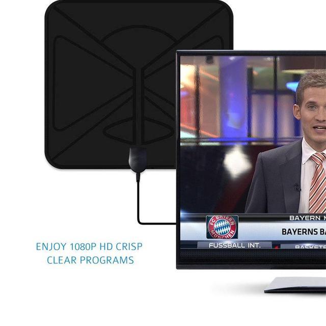 1080 Mile 4K 1080P Digital TV Antenna For DVB-T TV HDTV Freeview TV Antenna Aerial Satellite Receiver With USB Single Amplifier