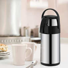 Thermos-Parts Ce with Pump Kitchen-Appliance 3-Liter Coffee-Dispenser Stainless-Steel