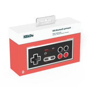 Image 5 - 8Bitdo N30 Bluetooth controller NS version Gamepad for Switch Online Game Support Turbo