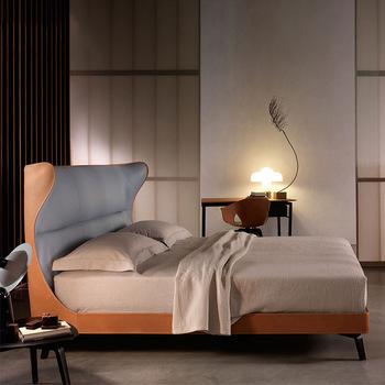 2020 nowy projekt nowoczesne meble domowe skórzane meble do sypialni tanie i dobre opinie Mavisun CN (pochodzenie) modern china D082H Metal iron Zestaw sypialni meble do domu 18m2