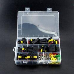 240 Uds AMP 1,5 coche impermeable 1P 2P 3P 4P 5P 6PIN 12V conector de cable eléctrico de Kits con 5-30A fusible automático 10A 15A 20A
