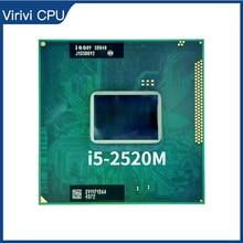 Intel Core i5 2520M i5 2520M SR048 2.5 GHz Dual Core Quad Thread CPU Processor 3M 35W Socket G2 / rPGA988B