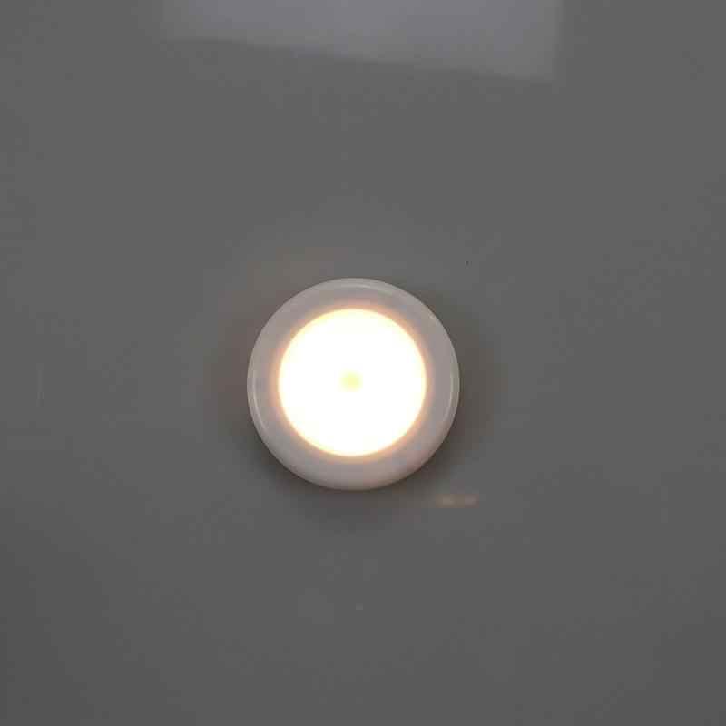 1 шт. 6LED ночной Светильник датчик движения лампа магнитный беспроводной детектор настенные лампы авто вкл/выкл шкаф Прихожая шкаф светильник s