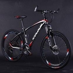 Rower górski ze stopu aluminium 26 cali zmienna prędkość amortyzacja podwójne hamulce tarczowe dla mężczyzn i kobiet rowerów