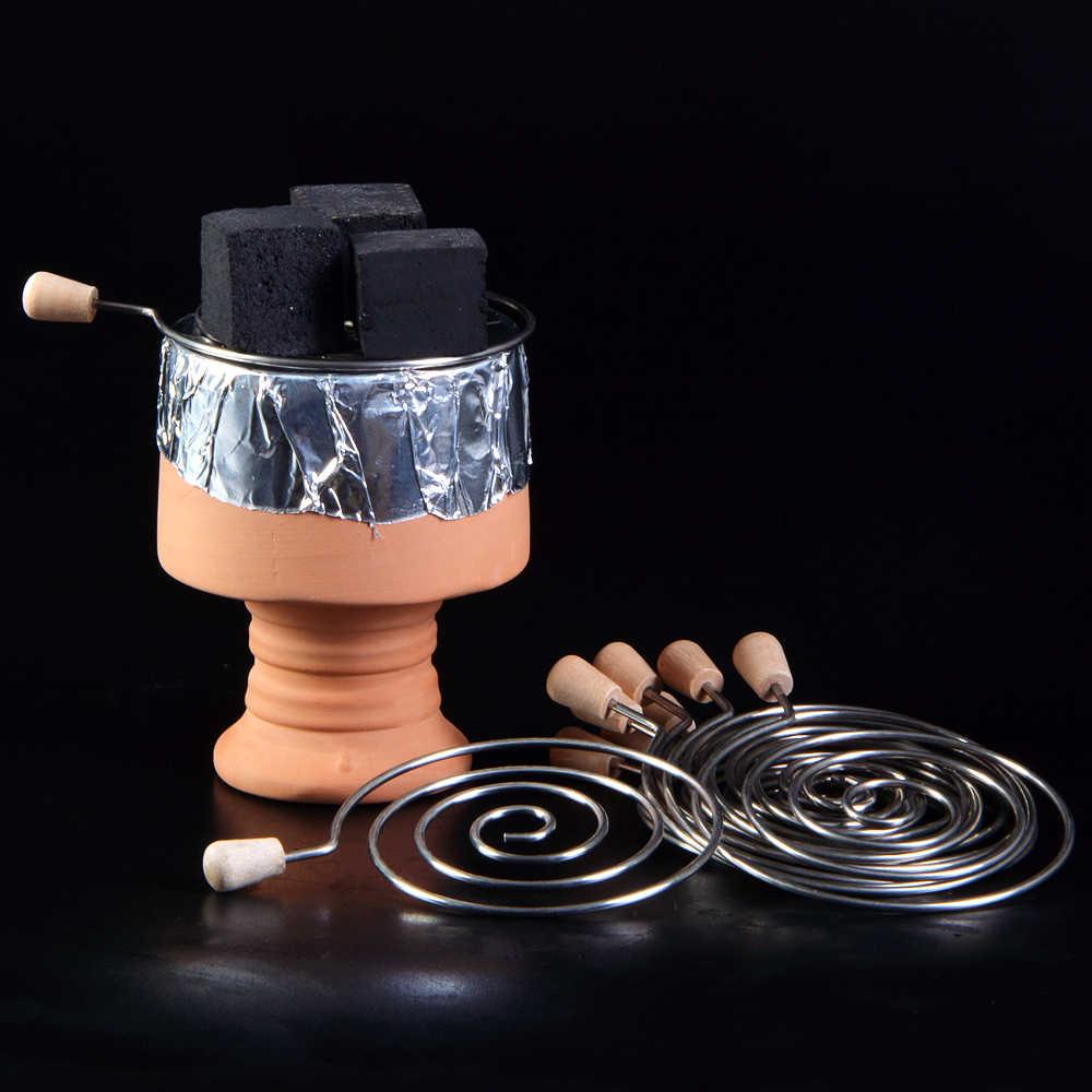 Suporte de tubo de carvão em aço inoxidável, tela para tabac, chicha, szisza, nargile, shisha, acessórios para cabeça, 1 peça