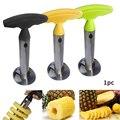 1 stücke Edelstahl Einfach zu bedienen Ananas Schäler Zubehör Pineapple Obst Cutter Corer Slicer Kitchen Tools Gadgets