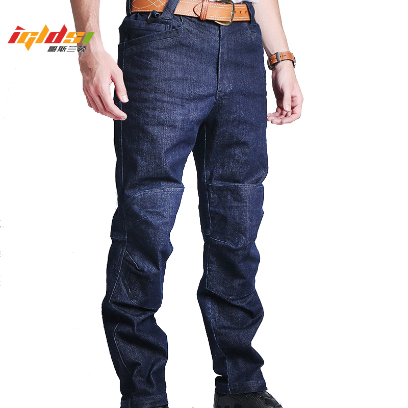 Urban Tactical Denim Cargo Jeans Men SWAT Multi Pockets Stretch Army Military Jean Man Cotton Motorcycle Denim Biker Jeans