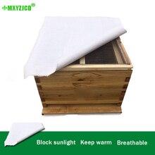 10 шт. коробка с пчелами покрывающая Ткань Солнцезащитный козырек сохраняет тепло Толстая пчелиная ткань хлопок материал не автономный пчеловод поставки