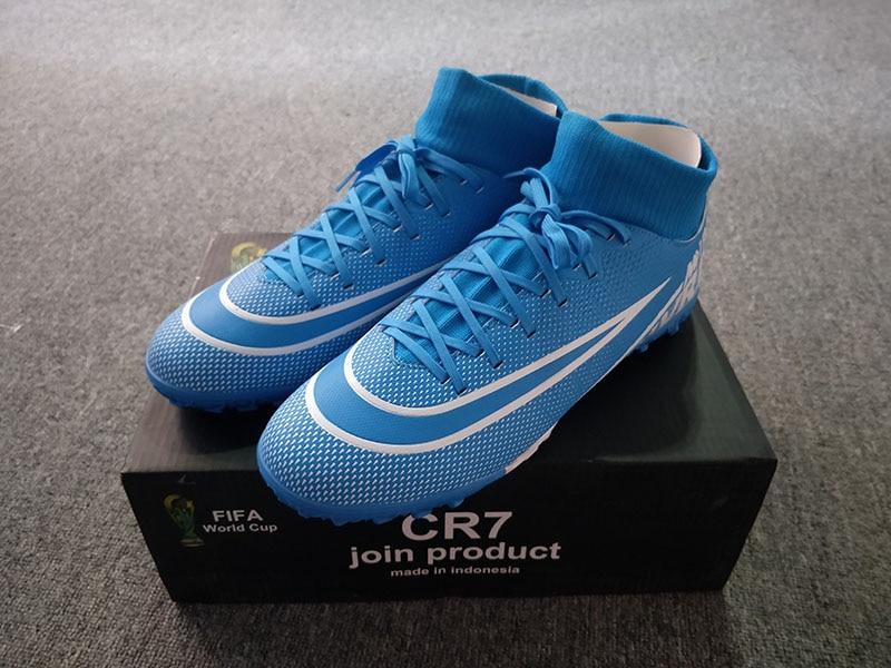 Taobo ποδοσφαιρικά παπούτσια πολύταπα για άνδρες και γυναίκες με ενσωματωμένη κάλτσα msow