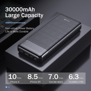 Mini Power bank 30000 mAh Bank Portable Charging Cellphones & Telecommunications