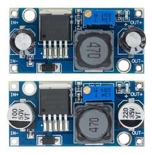 100 adet/grup LM2596S LM2596 LM2596 ADJ DC DC adım aşağı modülü 5V/12V/24V ayarlanabilir voltaj regülatörü 3A